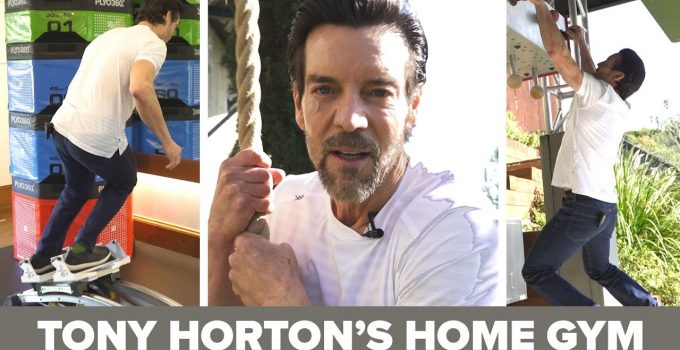 Tony Horton's Insane Home Gym Tour