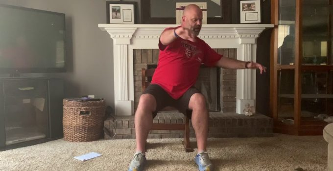 5-minute Active Balance Session